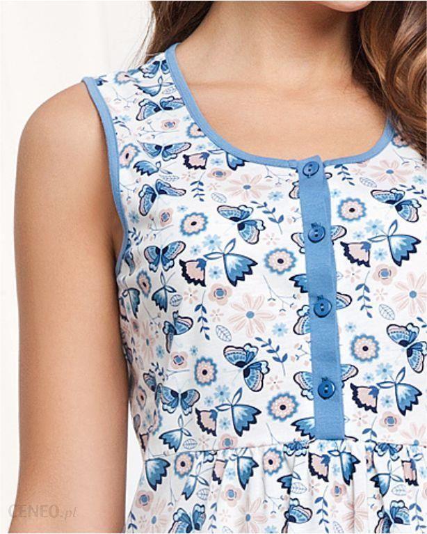 Koszula damska LUNA kod 285 niebieska Ceny i opinie Ceneo.pl  UVqui