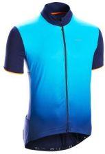 Triban Koszulka Krótki Rękaw Na Rower 500 Damska Niebieski
