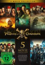 Pirates of the Caribbean 1-5 (Piraci z Karaibów 1-5) [5DVD]