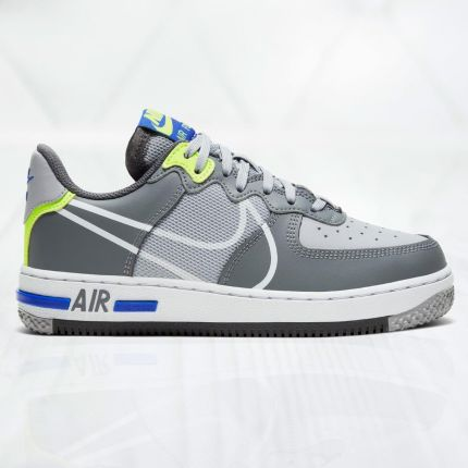 nike air force 1 low glitter-szary