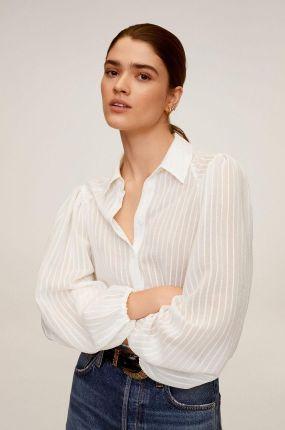 House Koszula z printem Kremowy damska Ceny i opinie  JWYZN