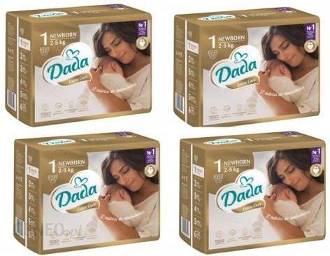 Dada Pieluchy Jednorazowe Extra Care 1 Newborn 2‑5kg 4X23Szt.