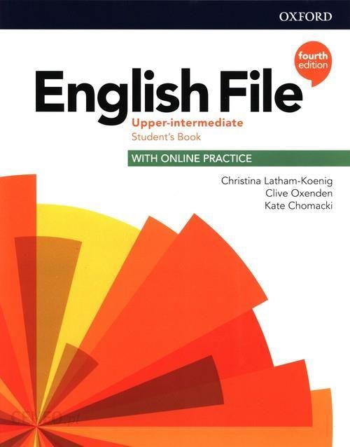 English File Fourth Upper-intermediate Podręcznik
