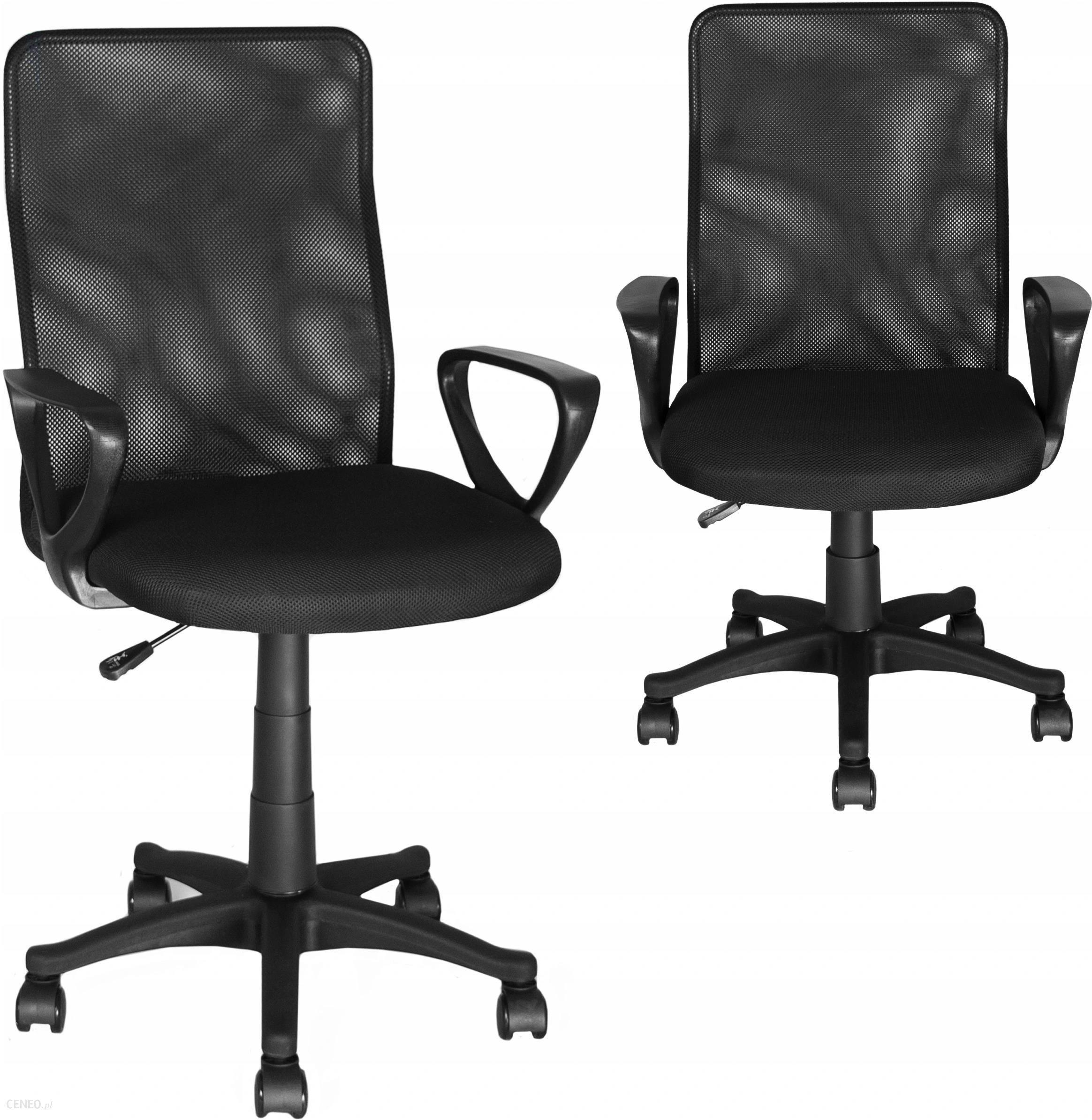 Fotel Biurowy Obrotowy Mikrosiatka Krzesło Biurowe