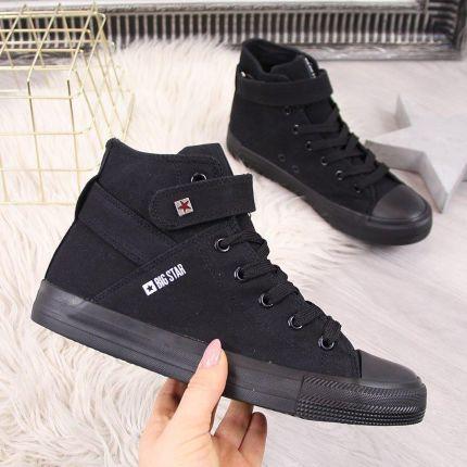 Trampki BIG STAR BLACK Y274639 Ceny i opinie Ceneo.pl