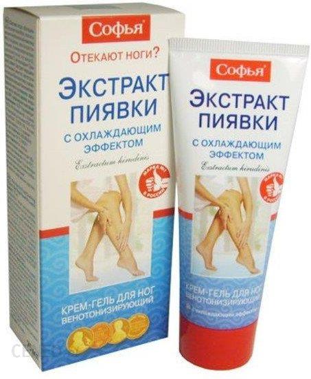 Sofja krem żel do nóg z efektem ochładzającym z ekstraktem z pijawki 125 ml
