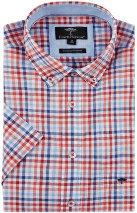 PROFUOMO Niebieska koszula Profuomo w gęsty wzór SLIM FIT 40  9Mi5Q