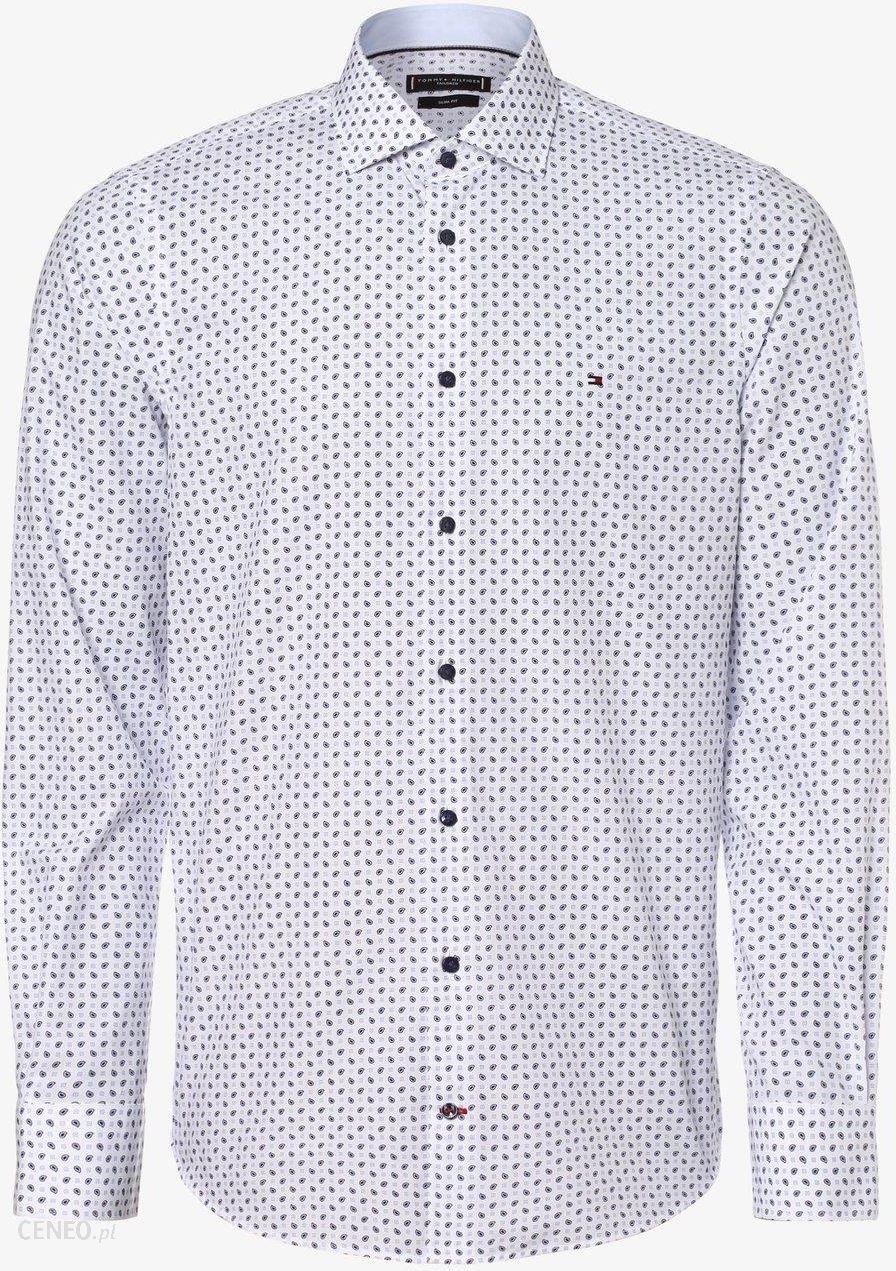 Tommy Hilfiger Tailored Koszula męska, biały Ceny i opinie Ceneo.pl