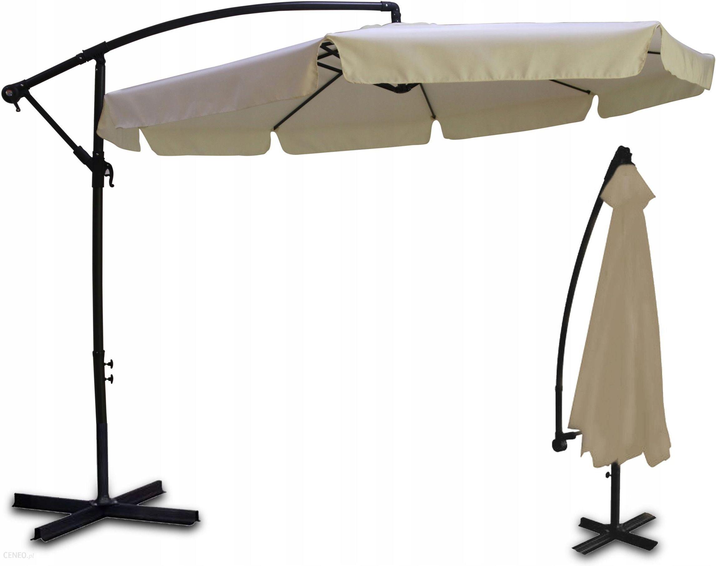 Parasol Ogrodowy Plonos Parasol Ogrodowy Duzy Skladany 8 Segmentow 350cm Beze I Brazy Ceny I Opinie Ceneo Pl