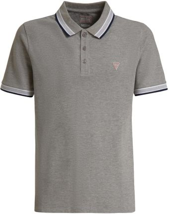 Męska koszulka GRADY SS POLO M02P40K7O60-LHY GUESS - Ceny i opinie T-shirty i koszulki męskie WVND