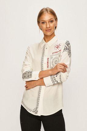 Białe Koszule damskie Desigual Styl Klasyczne Ceneo.pl  K0nTl