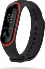 TECH-PROTECT SMOOTH XIAOMI MI BAND 3/4 BLACK/RED