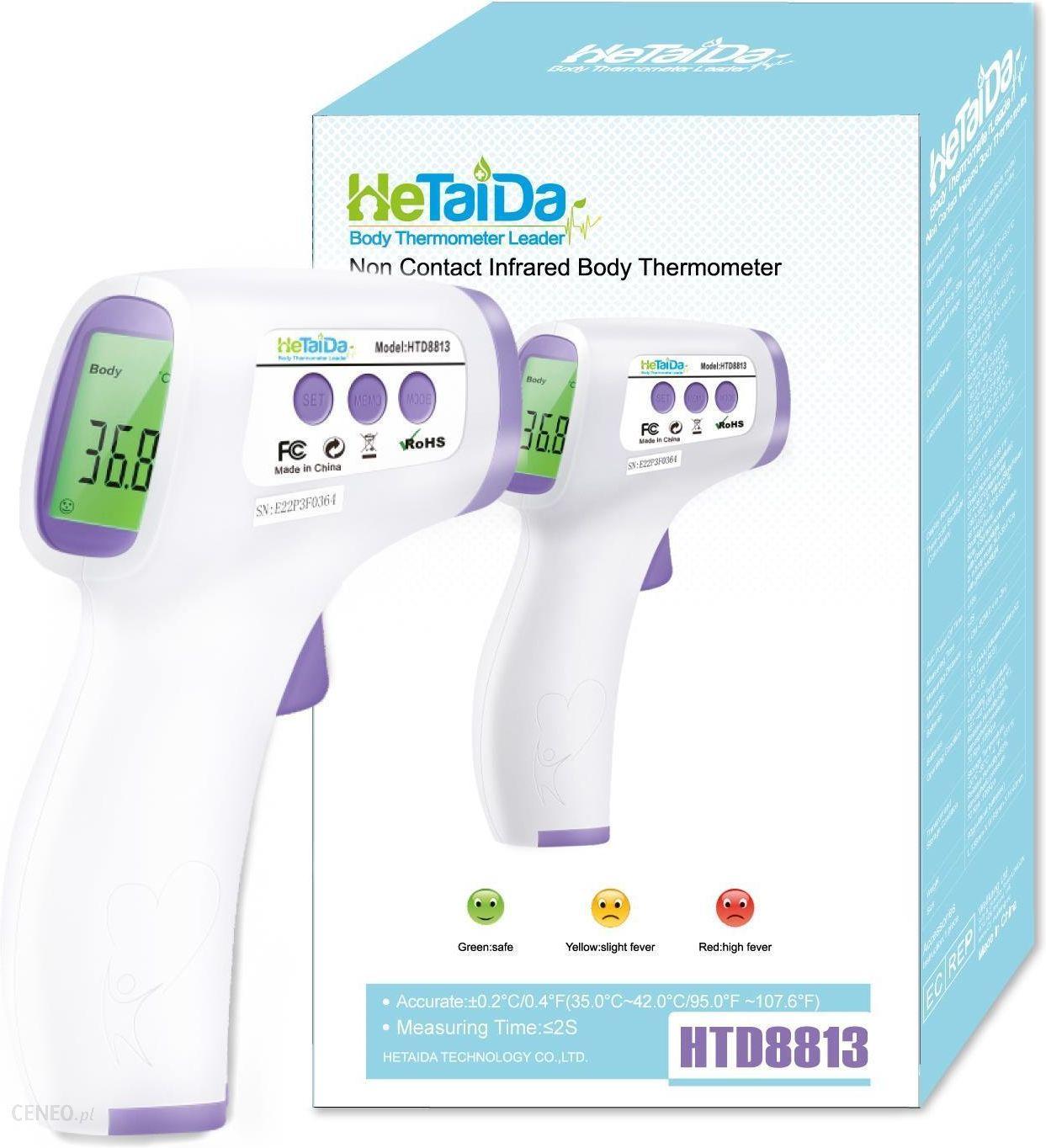 termometr bezdotykowy Hetaida
