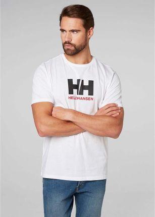 Koszulka męska Helly Hansen Logo T-shirt white - Ceny i opinie T-shirty i koszulki męskie EMTZ