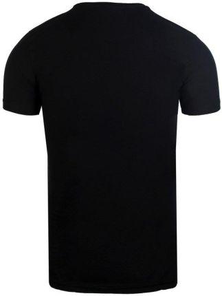 NEIDIO T-SHIRT MĘSKI BAWEŁNIANA KOSZULKA OD TS2016 CZARNY - CZARNY - Ceny i opinie T-shirty i koszulki męskie XLGI