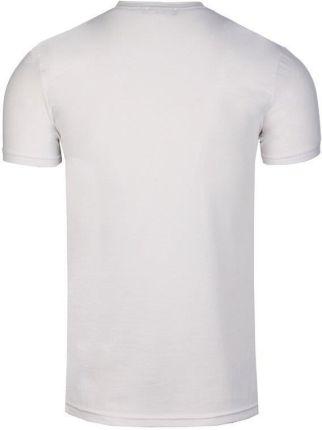 NEIDIO T-SHIRT MĘSKI BAWEŁNIANA KOSZULKA OD TS2004 BIAŁY - BIAŁY - Ceny i opinie T-shirty i koszulki męskie RCGP