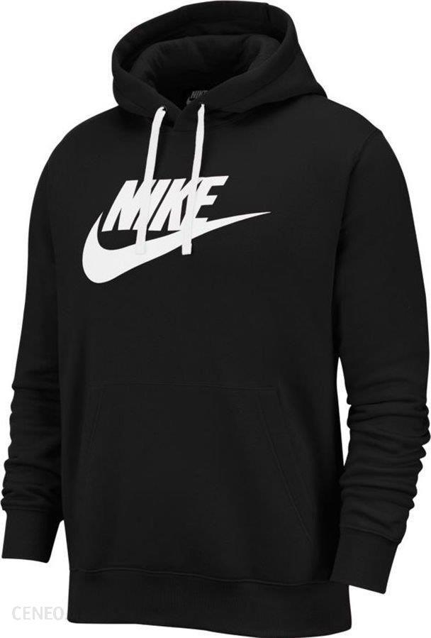 Bluza NIKE Club Hoodie BV2973 Czarne bluzy męskie Nike, l
