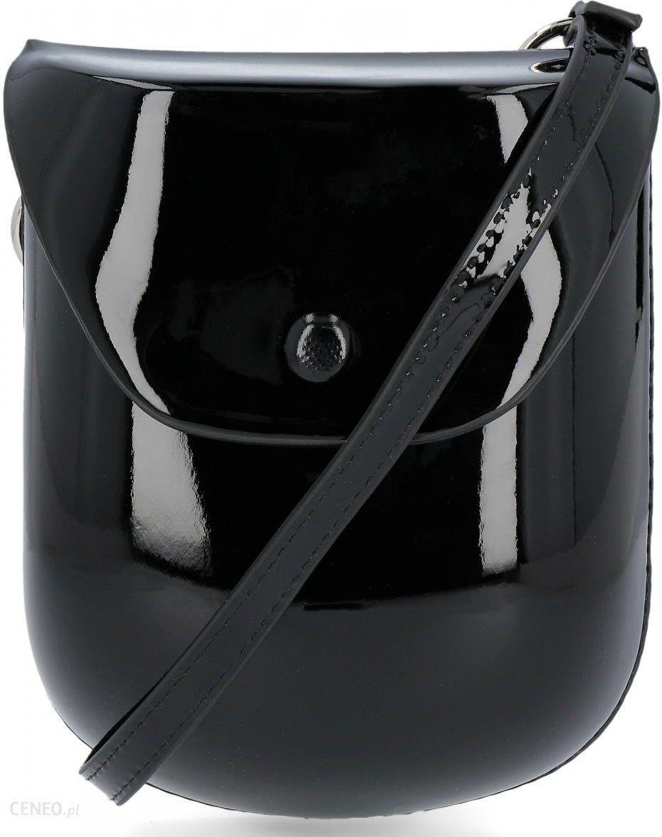 Elegancka lakierowana listonoszka firmy czarna (kolory