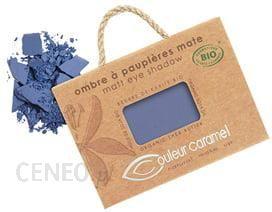 couleur caramel Eyeshadow Matt cień do powiek Navy Blue