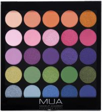 MUA 25 Shade Palette Paleta 25 Cieni Do Powiek Tropical Oceana
