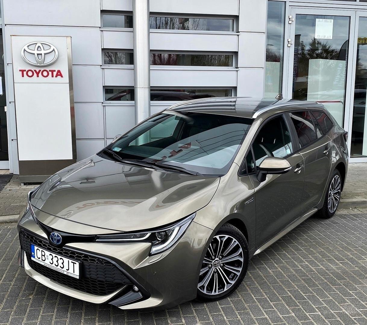 Toyota Corolla 1 8 Hybrid Comfort Navi Style Opinie I Ceny Na Ceneo Pl