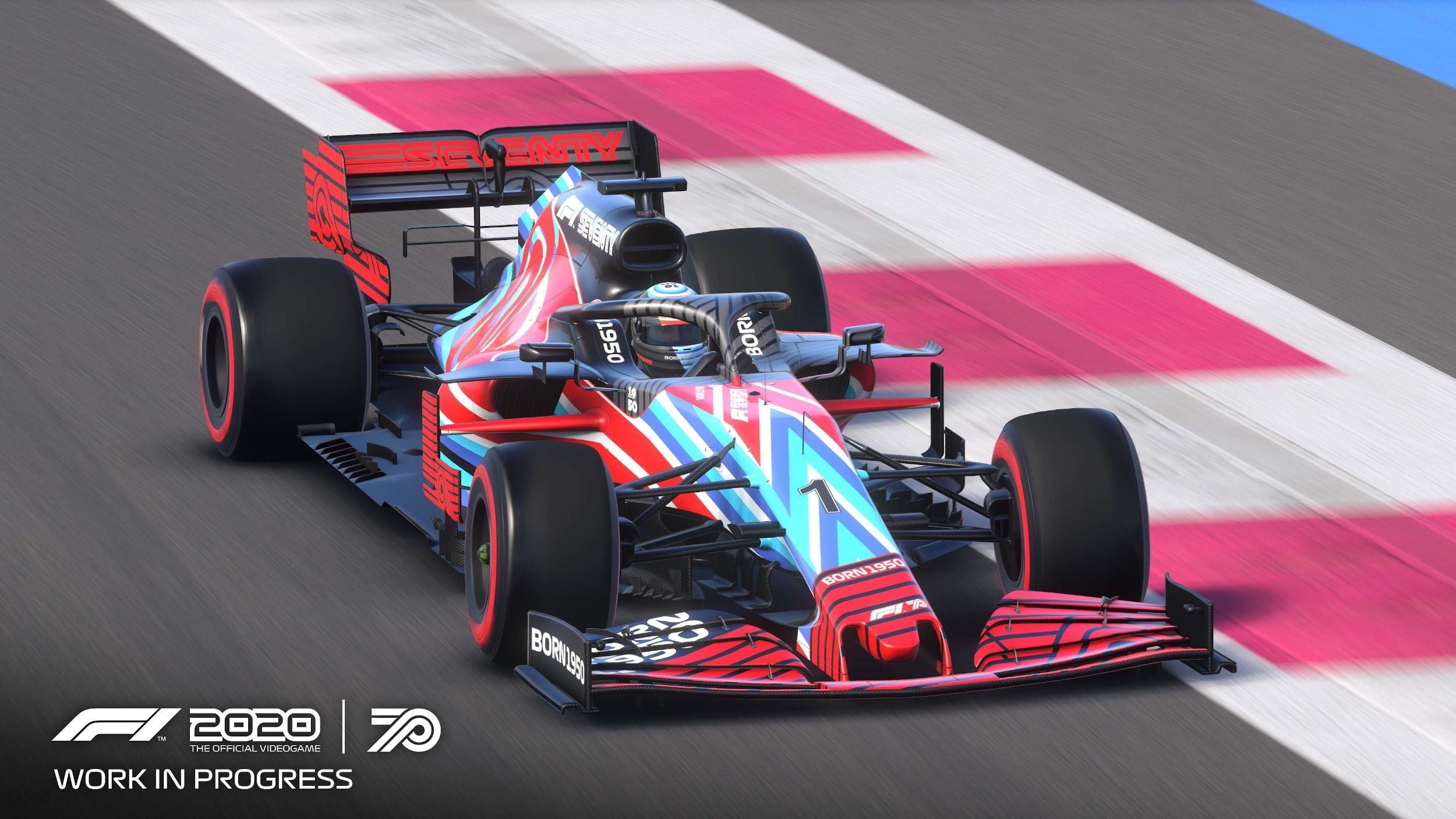 F1 2020 - Edycja Siedemdziesięciolecia (Gra PS4) - Ceny i ...