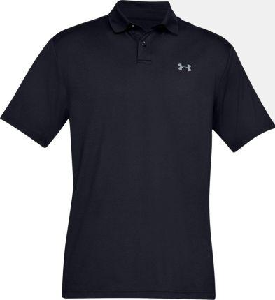 Under Armour UA Performance Koszulka Polo Do Golfa Męska Black S - Ceny i opinie T-shirty i koszulki męskie VPWH