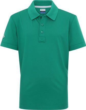 Callaway Youth Solid Junior Polo Shirt Golf Green M - Ceny i opinie T-shirty i koszulki męskie CYYR