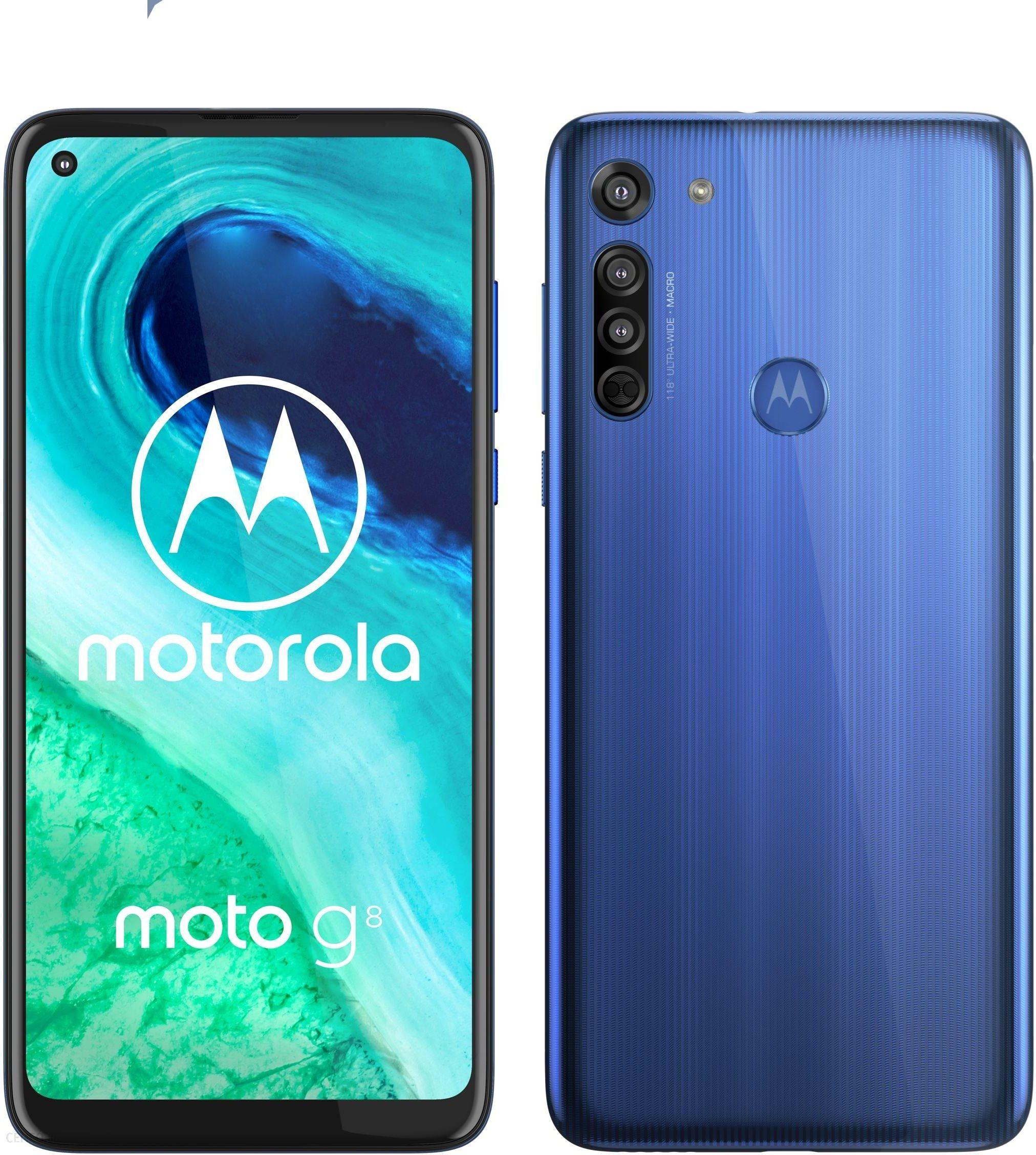Motorola Moto G8 4 64gb Niebieski Cena Opinie Na Ceneo Pl