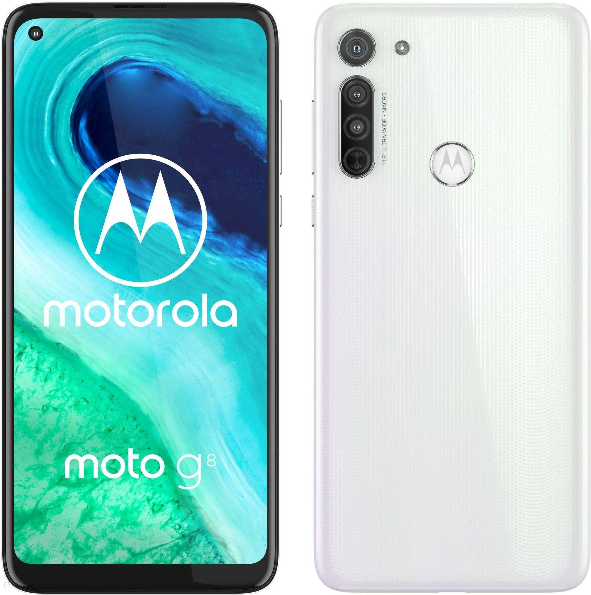 Motorola Moto G8 4 64gb Bialy Cena Opinie Na Ceneo Pl