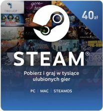 Steam Wallet Gift Card 40 PLN