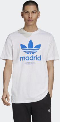 Adidas Madrid Trefoil Tee EMB44 - Ceny i opinie T-shirty i koszulki męskie JORX