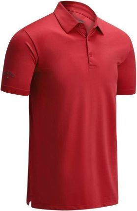 Callaway Swingtech Solid Mens Polo Shirt Tango Red XL - Ceny i opinie T-shirty i koszulki męskie ZUGW