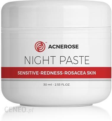 Farmacia Verde Acnerose Night Paste jautrus paraudimas Rosacea odos pasta Rosacea 30Ml