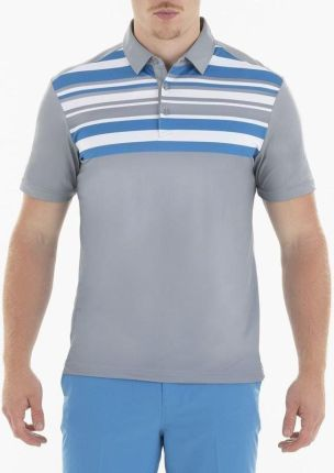 Sligo Bentley Mens Polo Shirt Light Grey M - Ceny i opinie T-shirty i koszulki męskie NRKG