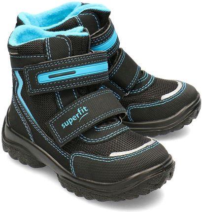 Buty zimowe dla dużych dzieci (chłopców) JOBMW405 morska