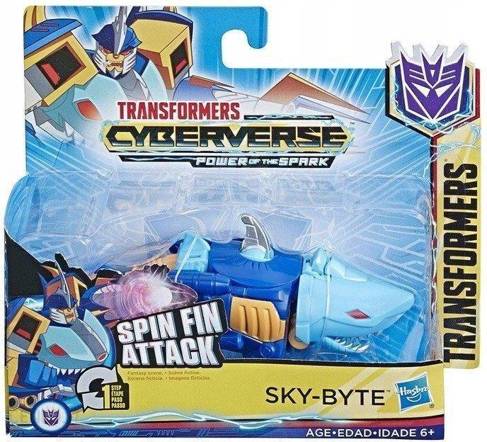 Hasbro Transformers Cyberverse Skybyte E4792 Ceny I Opinie Ceneo Pl