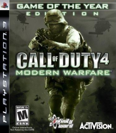 Call of Duty 4: Modern Warfare (Gra PS3)
