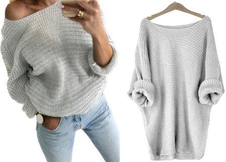 Swetry Damskie Na Drutach Moda Damska Ceneo Pl