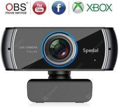 """SPEDAL 920 FULL HD WEBCAM  LIVE STREAMING COMPUTER LAPTOP CAMERA FOR OBS X-BOX XSPLIT SKYPE FACEBOOK"""