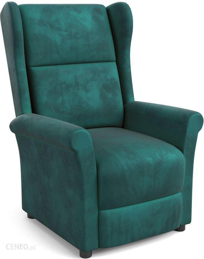 Halmar Agustin 2 Fotel Wypoczynkowy Ciemny Zielony