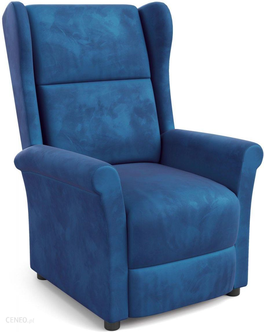 Halmar Agustin 2 Fotel Wypoczynkowy Granatowy