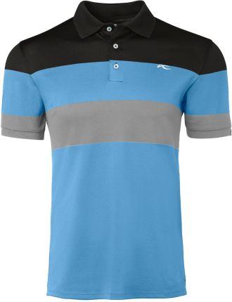 Kjus Luan CB Mens Polo Shirt Aqua Splash/Salute 54 - Ceny i opinie T-shirty i koszulki męskie OIAU
