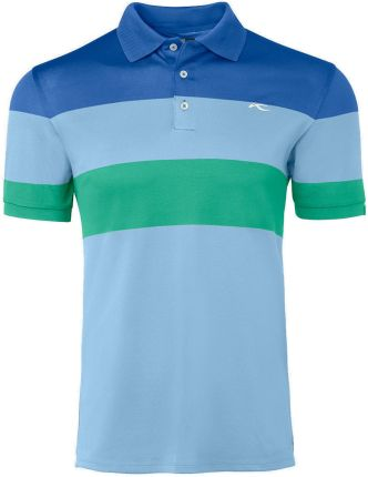 Kjus Luan CB Mens Polo Shirt Bermudas Blue/Strong Blue 50 - Ceny i opinie T-shirty i koszulki męskie XXML