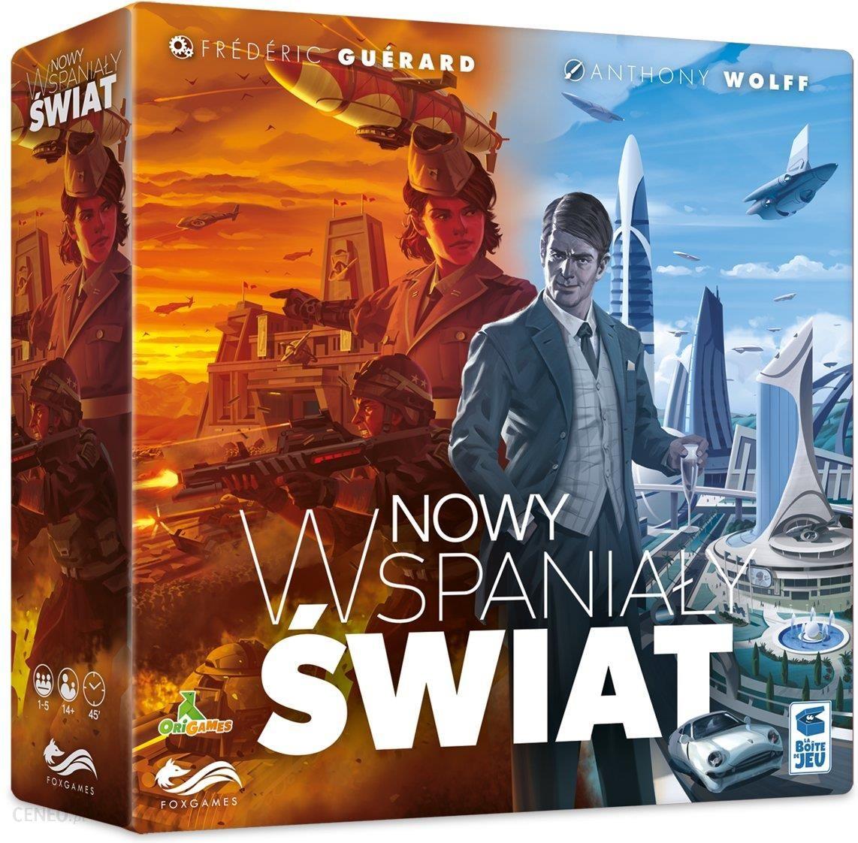 Gra planszowa FoxGames Nowy Wspaniały Świat