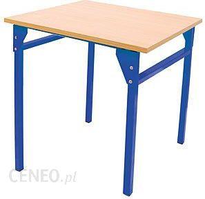 Chłodny Moje Bambino ławka szkolna pojedyncza niebieska 6 (133162) - Ceny LE13