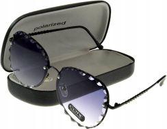 Okulary damskie przeciwsłoneczne CODE czarny | NOWOŚCI DLA