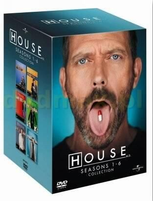 Dr House sezony 1-6 (House M.D. - Seasons 1-6) (27DVD)