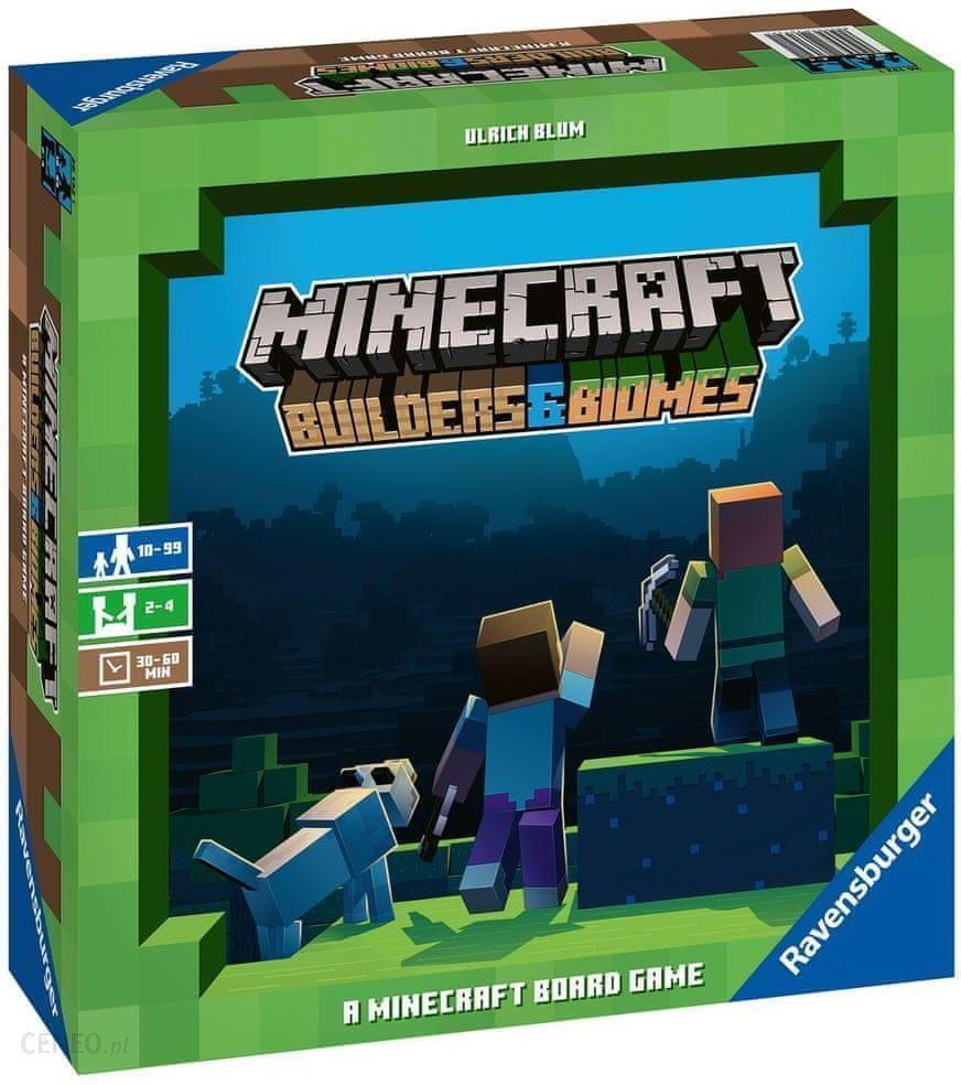 prezent dla 9-latka minecraft gra planszowa