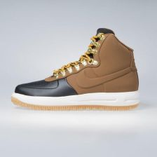 Sneakers buty Nike Lunar Force 1 Duckboot '18 black / lt british tan-phantom (BQ7930-001) - zdjęcie 1